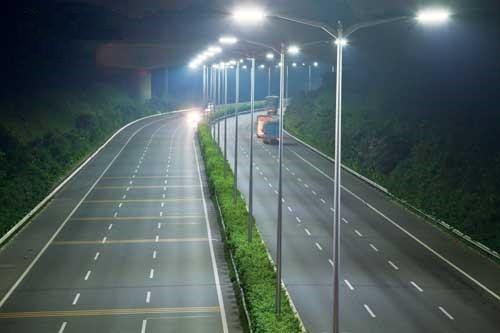 Đèn đường năng lượng chiếc lá