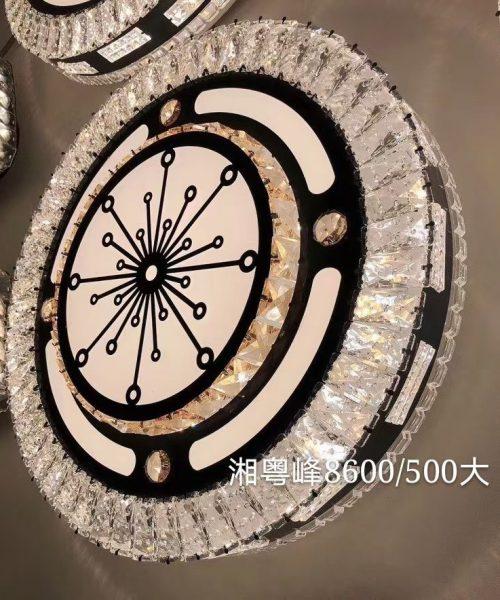Đèn ốp trần trang trí cao cấp pha lê T8600