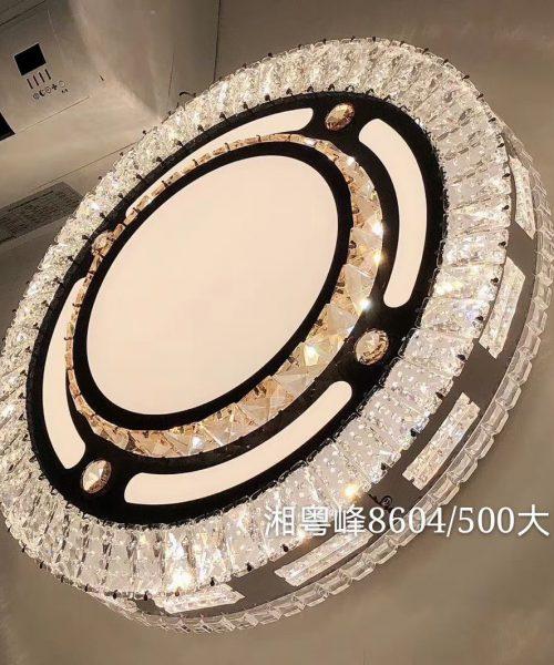 Đèn ốp trần trang trí cao cấp pha lê T8604