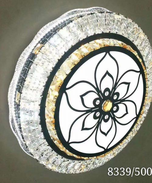 Đèn ốp trần trang trí cao cấp pha lê T8339
