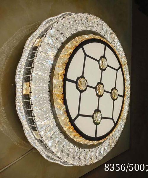 Đèn ốp trần trang trí cao cấp pha lê T8356