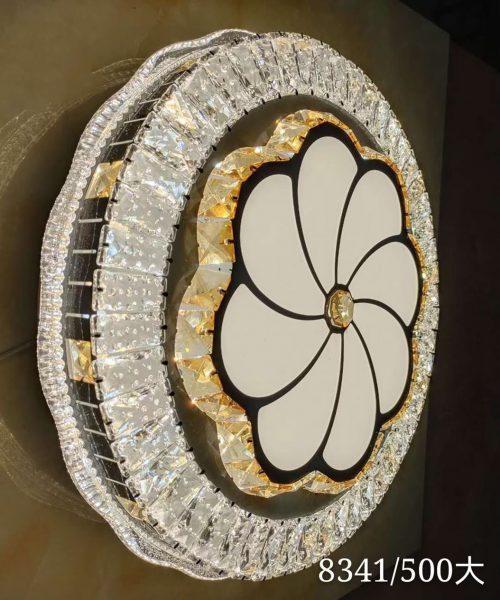Đèn ốp trần trang trí cao cấp pha lê T8341