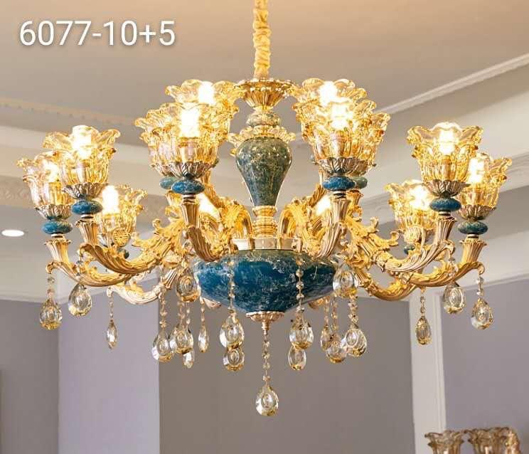 Đèn chùm trang trí cao cấp T6068-15