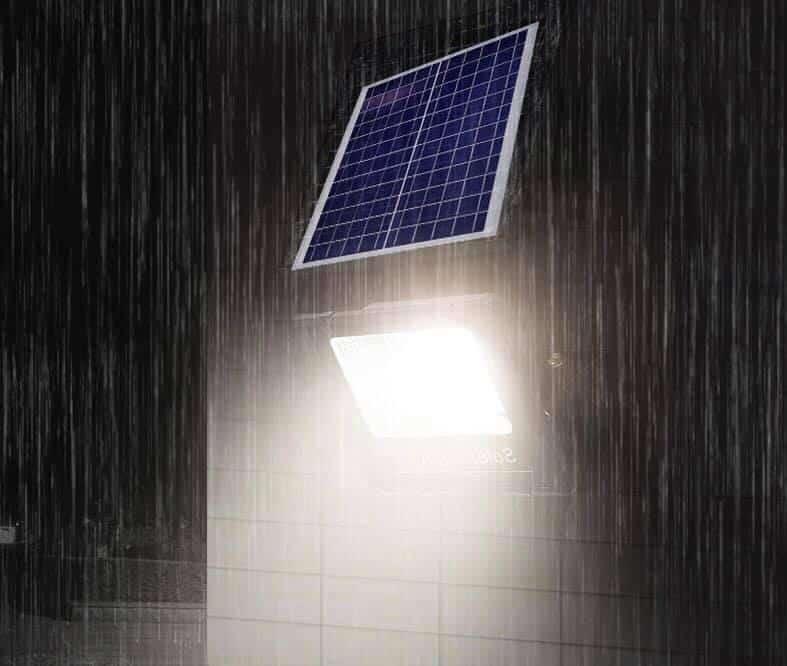 Đèn nnagw lượng mặt trời 6 khoang 100w 100-6k